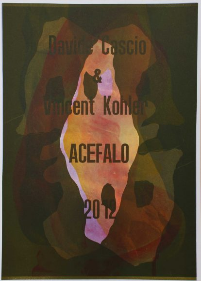 @ Vincent Kohler Davide Cascio Acefalo