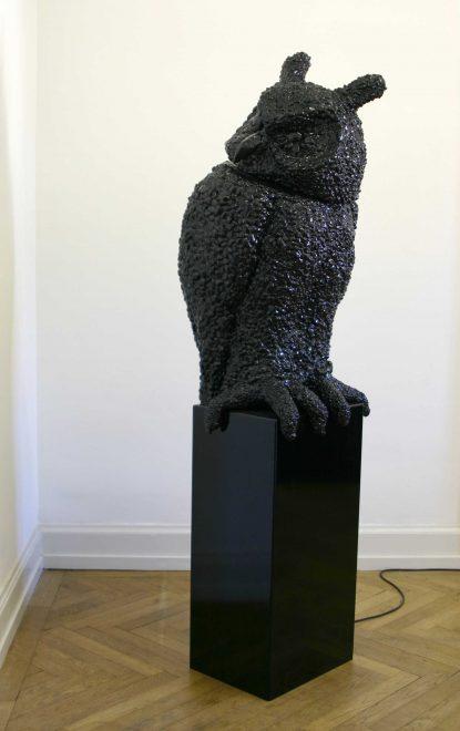 @ Vincent Kohler Hibou, owl petrol