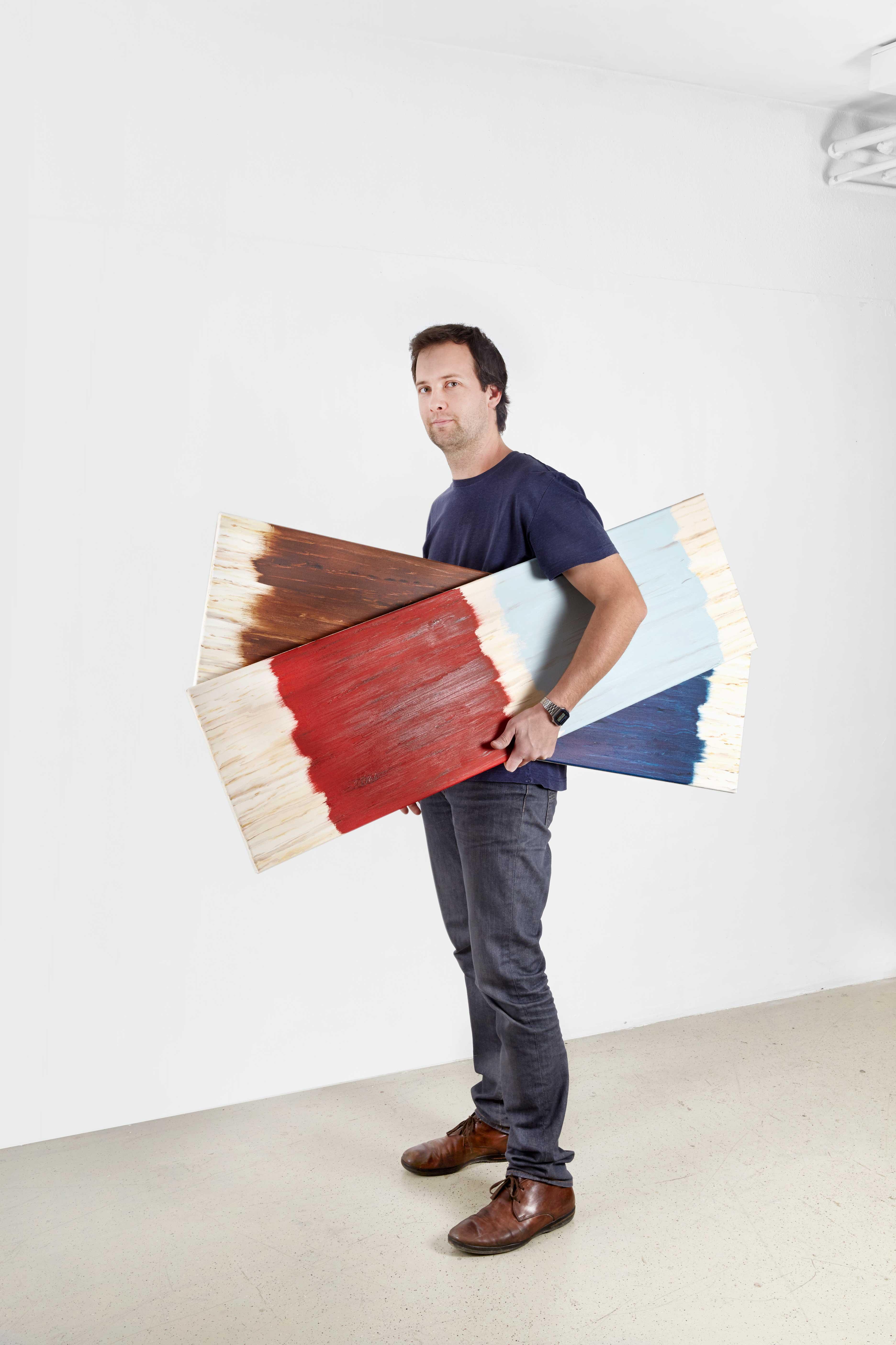 @ Vincent Kohler Portrait, studio, atelier