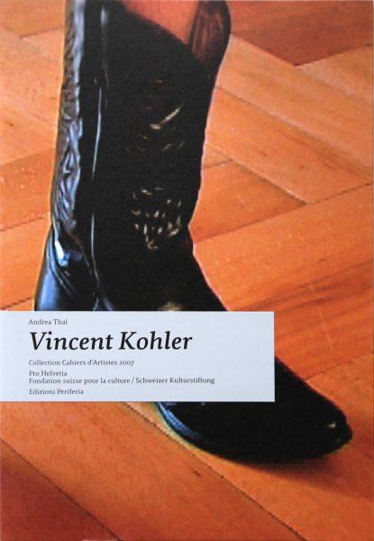 @ Vincent Kohler Twist Again, cahier d'artiste, ProHelvetia